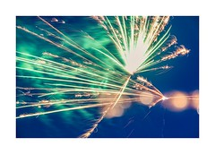 Independence Day fireworks (catkin314) Tags: independenceday fireworks colour bokeh multipleexposure longexposure icm