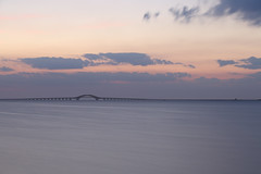 Great South Bay Morning (Bob90901) Tags: greatsouthbay morning longisland newyork summer longexposure civiltwilight bluehour rpg90901 filter neutraldensity lee littlestopper nd6 dawn sunrise clouds sky water robertmosescauseway southshore bay canon 6d canonef70200mmf28lisiiusm canon70200f28lll bridge westbabylon bergenpoint 2016 september 0611 vle