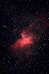 M 16 The Eagle Nebula, Serpens, 25 e 26 Giugno 2017 (Reynolds Sr.) Tags: deepsky profondocielo nebula astronomia serpens