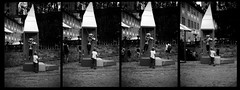 TFF - Skeleton + Fiddle + Young Conductor, Sequence (_LWR_) Tags: analog analogue leicam6 r09 ilfordpanf tff tff2017 rudolstadt rudolstadtfestival film 35mm 135 140 deutschland germany thuringia thüringen sequence