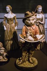 Masterful Chocolatiers (Ian David Blüm) Tags: belgium chocolate museum bruges brugge grimm fairy tales pussinboots ornate decoration sculture statue