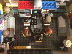Blockade Runner Bridge LEGO (JD430w) Tags: starwars blockaderunner cr90 corelliancorvette bridge cockpit