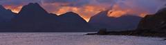 CUILLINS ON FIRE By Angela Wilson (angelawilson2222) Tags: cullin mountains evening dust light orange angela wilson nikon wild nature skye scotland