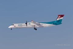 LX-LGG @ DRS (2).jpg (patrickmeissner90) Tags: drs dresden bombardier lxlgg eddc luxair dh8d