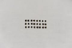 (Kirill Dorokhov) Tags: white wall hole holes pattern tiny texture paper minimal ventilation кириллдорохов вентиляция отверстие стена белая белый