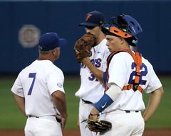 Kevin O'Sullivan, Jackson Kowar & JJ Schwarz (dbadair) Tags: florida gators uf university sec baseball ncaa regionals gainesville 2017 college world series winners first national title omaha