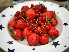 UK - Oxford - OlympusUK Gifford Circus Experience - Still life with strawberries and redcurrants_P6190423 (Darrell Godliman) Tags: ukoxfordolympusukgiffordcircusexperiencestilllifewithstrawberriesandredcurrantsp6190423 strawberries redcurrants fruit food macro closeup circussauce giffordscircus giffords red stlllife