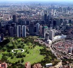 Global City, Baby #2 (KanoWithCamera) Tags: makati manila globalcity fortbonifacio aerial philippines