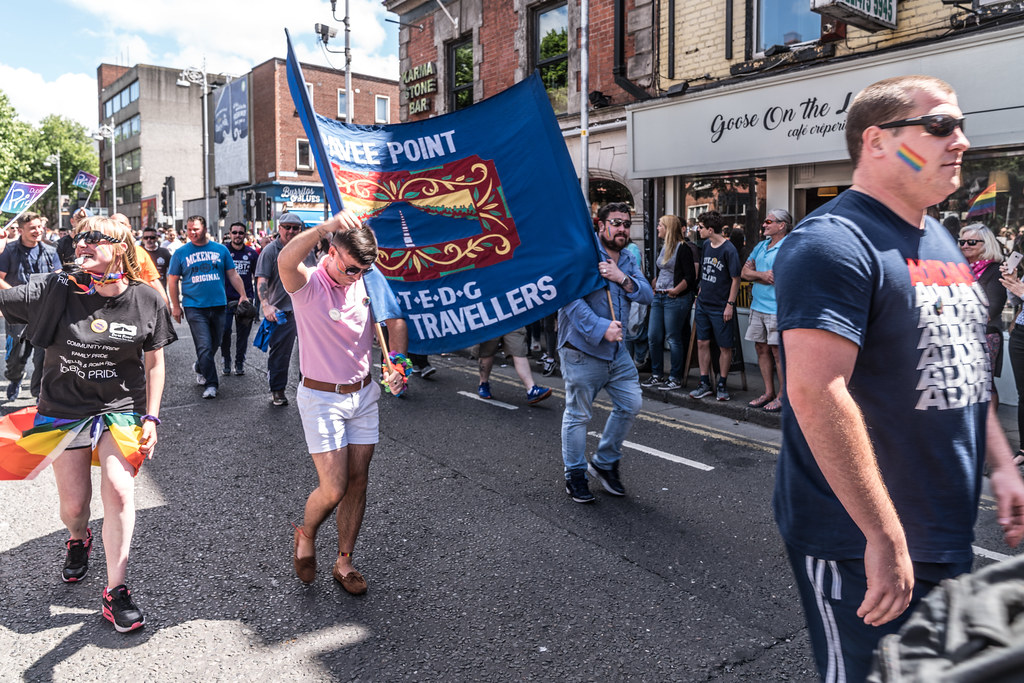 LGBTQ+ PRIDE PARADE 2017 [ON THE WAY FROM STEPHENS GREEN TO SMITHFIELD]-129970