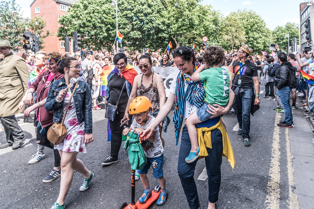 LGBTQ+ PRIDE PARADE 2017 [ON THE WAY FROM STEPHENS GREEN TO SMITHFIELD]-130076