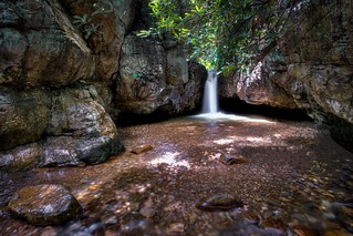 Blue Hole Grotto Falls