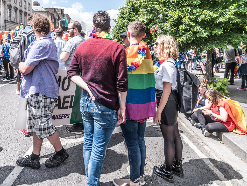 LGBTQ+ PRIDE PARADE 2017 [STEPHENS GREEN BEFORE THE ACTUAL PARADE]-129814