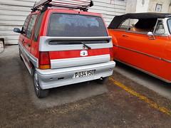 Daewoo Tico hatchback (dave_7) Tags: hatchback car cuba daewoo tico