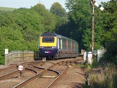 43155 Liskeard (3) (Marky7890) Tags: gwr 43155 class43 hst 1a98 liskeard railway cornwall cornishmainline train
