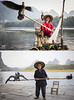 Fishermen - Good Times, Bad Times (lycheng99) Tags: sunrise sunset goodtimes badtimes sad depressed cormorant cormorantfisherman cormorantfishing cormorants birds bambooraft bamboo liriver líjiāng xingping guilin guangxi china
