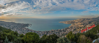 Clouds Over Jounieh From Harissa