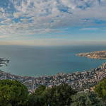 Clouds Over Jounieh From Harissa thumbnail