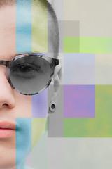 (giuseppe radaelli) Tags: photo ritratto portrait model geometrie modello colore geometrical