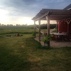 (kitliz) Tags: farm pergola blackfeather sunset