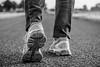 Gel-Cumulus (Nihil Baxter007) Tags: gel cumulus asics schuhe shoes shuh asphalt strase street black white schwarz weis portschuhe sport