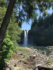 snoqualmie falls (MissLydia) Tags: summer 2017 wastate waterfall snoqualmie nature theowlsarenotwhattheyseem july twinpeaks northbend staycation fallcity snoqualmiefalls