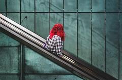 ghostwritings (berberbeard) Tags: hannover fotografie photography urban berberbeard berberbeardwordpresscom germany ilce7m2 itsnotatrick street primelens festbrennweite zeiss 55mm sony deutschland menschen people underground ubahn rolltreppe escalator list