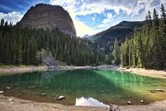 Mirror Lake Banff (John Andersen (JPAndersen images)) Tags: banff beehive forest mirrorlake mountain canada150