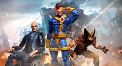 The X-Men (kevchan1103) Tags: hasbro marvel legends jim lee cyclops the xmen scott summers custom professor x charles xavier wolverine logan toys action figure toybiz