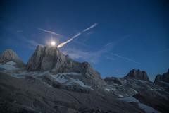 expo-8307 (ernst.scherr) Tags: adamekhütte gosau dachstein salzkammergut gletscher schnee natur mondaufgang mondlicht sonnenuntergang alpen pflanzen