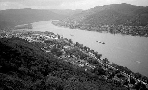 Dunaj koło Wyszehradu / Danube by Visegrad
