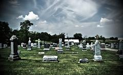 cemetery wide shot