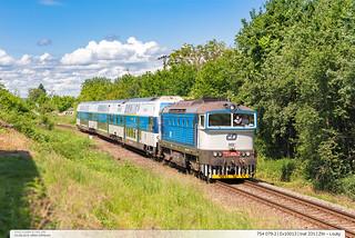 754.079-2   Ex10013   trať 331   Zlin – Louky