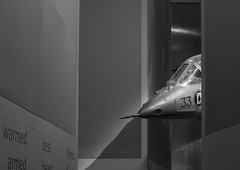 predator (Stewart485) Tags: architectureandbuildings england evocative imperialwarmuseum places stilllife things vaguelyarty aircraft impression military
