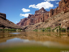 Just above the Colorado (isaac.borrego) Tags: uploadedviaflickrqcom canyon desert river water coloradoriver theconfluence littlecoloradoriver arizona canonrebelt4i reflections grandcanyon nationalpark unitedstates america usa