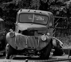 Jalopy (robgividenonyx) Tags: kentucky abandoned jalopy rusted rusty truck franklincounty bw