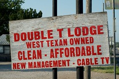 Double T Lodge (dangr.dave) Tags: architecture downtown historic texas texastx throckmorton throckmortoncounty doubletlodge westtexas clean cabletv affordable newmanagement