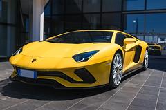 Lamborghini Aventador S Coupè (lu_ro) Tags: lamborghini aventador s coupè italian italy sony a7 35mm zeiss yellow