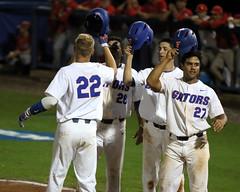 JJ Schwarz Grand Slam Home Run (dbadair) Tags: florida gators uf university sec baseball ncaa regionals gainesville 2017 college world series winners first national title omaha