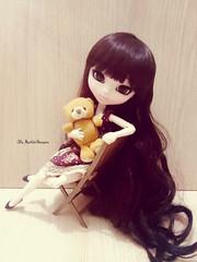 Helena ♥ (♥ MarildaHungria ♥) Tags: helena pullip fanatica regenerationseries groove doll obitsu obitsued rewigged wig teddy plush cute kawaii lovely