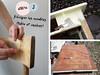 DIY - étape 2 : Décaper les éléments (table et chaises) (G.Rapp) Tags: relooking meuble diy table chaise cuisine pastels pastel scandinave bricolage