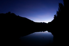 Sunset by the lake (Bloody Nick) Tags: mountains diga vododicadore sunset night water reflection naturalmente
