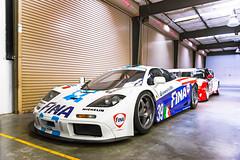 McLaren F1 GTR and BMW M3 GTR (Axion23) Tags: mclaren f1 gtr bmw m3 fina laguna seca car week