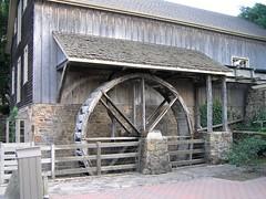 04 Water Wheel (megatti) Tags: buckscounty lahaska pa peddlersvillage pennsylvania waterwheel
