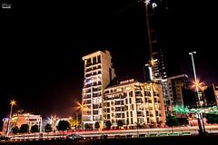 Beirut_Night_City_Muneer_Haroun_2 (Muneer Haroun) Tags: beirut lebanon cars lights sky night urban construction longexposure