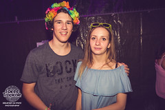 Soirée Tropical (sebastiendeprins) Tags: beer drinks friends group party bar girls portraits photography students out photobooth spotlights lights night backlight meeting dancing fancy love college people music fun dj nikon