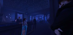 Nocturne Delight (Hollow's End) Tags: second life sl hollows end he rp roleplay role play virtual world social night club hotel urban horror event nocturne alcohol drinking champagne aristocrats noble investigators dark sapphire delight roses