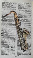 S comme Saxophone (chando*) Tags: aquarelle watercolor croquis sketch