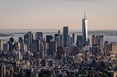 Lower Manhattan/One World Trade Center (theilheimer) Tags: newyork empirestatebuilding observationdeck lowermanhattan oneworldtradecenter manhattan usa state