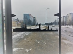 Plavnieki (elinapoisa) Tags: riga latvia rīga latvija plavnieki bus stop gulamrajons europe