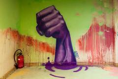 Le point levé à #rehab2 - @ciup_fr (tangi_bertin) Tags: maisondesélèvesingénieursartsetmétiers rehab2 artsetmétiers cité citéinternationaleuniversitairedeparis graffiti grafitty rehab streetart streetartparis